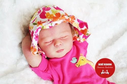 Bebê Reborn Menina Detalhes Reais Perfeitinha E Delicada Acompanha Enxoval E Chupeta
