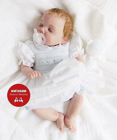 Bebê Reborn Menina Super Realista Com Acessórios E Enxoval Bebê Delicada E Encantadora