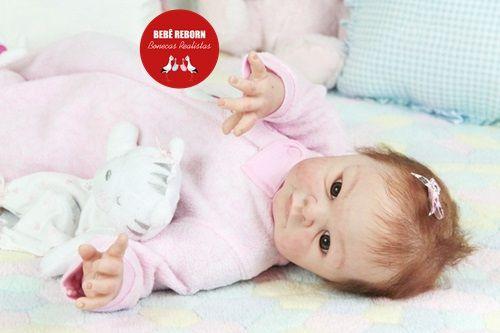 Bebê Reborn Menina Detalhes Reais Boneca Real Lindíssima Um Verdadeiro Presente Com Enxoval