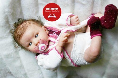 Bebê Reborn Menina Detalhes Reais Bela Bebê Com Enxoval Completo E Uma Linda Chupeta