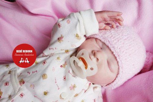 Bebê Reborn Menina Super Realista Com Detalhes Sofisticados Acompanha Lindo Enxoval