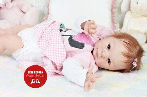 Bebê Reborn Menina Detalhes Reais De Um Bebê De Verdade Acompanha Enxoval E Acessórios
