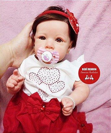 Bebê Reborn Menina Detalhes Reais Membros Em Vinil Siliconado Bebê Princesinha Com Enxoval