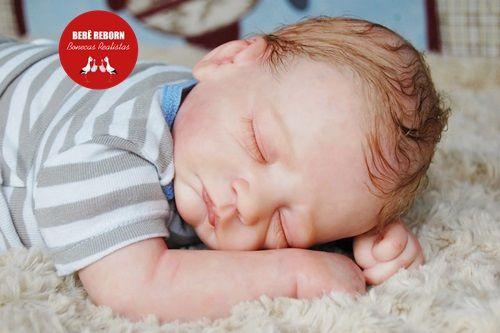 Bebê Reborn Menino Realista Bebê Super Fofo Feito Com Detalhes Acompanha Enxoval E Chupeta