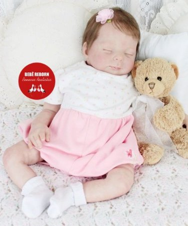 Bebê Reborn Menina Detalhes Reais Bonita E Perfeitinha Acompanha Lindo Enxoval E Chupeta