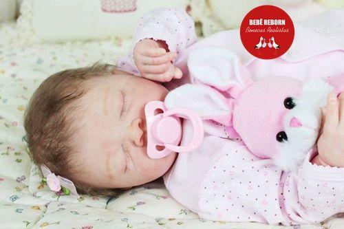 Bebê Reborn Menina Detalhes Reais Bebê Graciosa Com Lindo Enxoval E Acessórios Muito Fofos