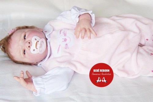 Bebê Reborn Menina Detalhes Reais Bebezinha Bela E Graciosa Acompanha Lindo Enxoval