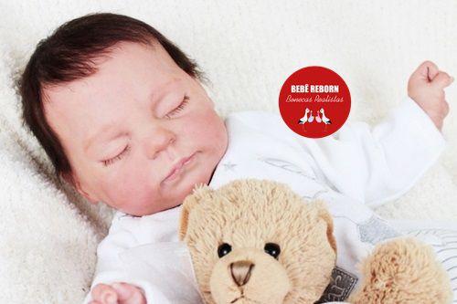 Bebê Reborn Menino Bebê Quase Real Muito Fofo E Realista Acompanha Lindo Enxoval E Chupeta