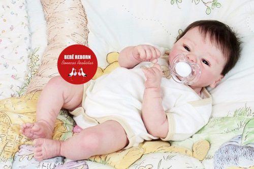 Bebê Reborn Menino Detalhes Reais Muito Fofo Parece Um Bebê De Verdade Acompanha Enxoval