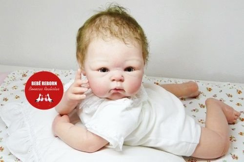 Bebê Reborn Menina Realista Super Fofa Parece Um Bebê De Verdade Boneca Maravilhosa