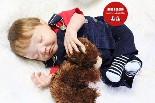 Bebê Reborn Menino Super Realista Muito Fofo Bebê Recém Nascido Com Enxoval E Chupeta