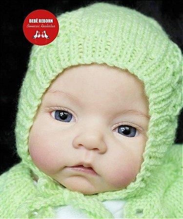 Bebê Reborn Menina Realista Lindíssima E Fofa Um Amor De Bebê Com Lindo Enxoval E Acessórios