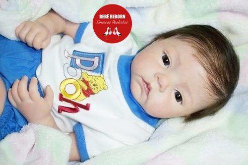 Bebê Reborn Menino Detalhes Reais Bebê Sofisticado Lindíssimo Com Chupeta E Enxoval