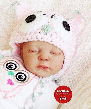 Boneca Bebê Reborn Menina Bebê Quase Real Princesinha Maravilhosa Com Lindo Enxoval