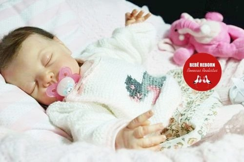 Bebê Reborn Menina Realista Boneca Graciosa E Perfeita Com Lindo Enxoval E Acessórios Fofos