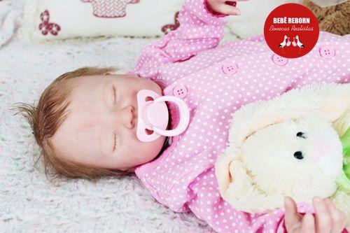 Boneca Bebê Reborn Menina Detalhes Reais Lindíssima E Delicada Acompanha Lindo Enxoval