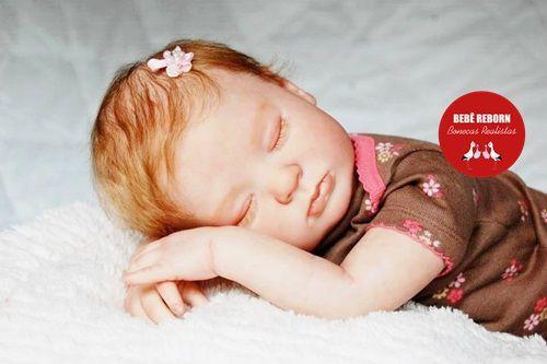 Boneca Bebê Reborn Menina Detalhes Reais Lindíssima Acompanha Enxoval Completo E Acessórios