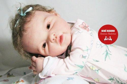 Boneca Bebê Reborn Realista Bebê Encantadora Quase Real Um Verdadeiro Presente Com Acessórios