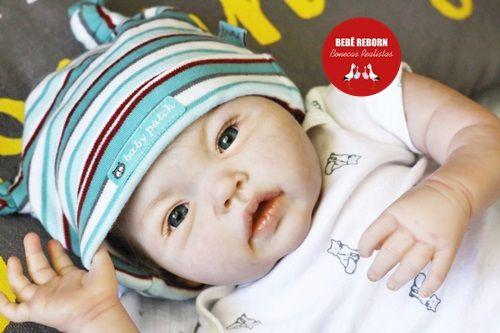 Bebê Reborn Menino Super Realista Bebê Muito Fofo E Encantador Acompanha Enxoval E Chupeta