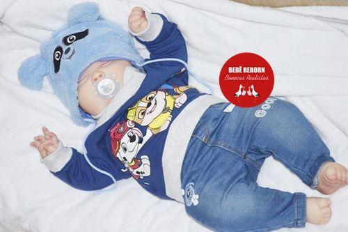 Bebê Reborn Menino Super Realista Criança Grande Toddler 60 Cm Acompanha Lindo Enxoval