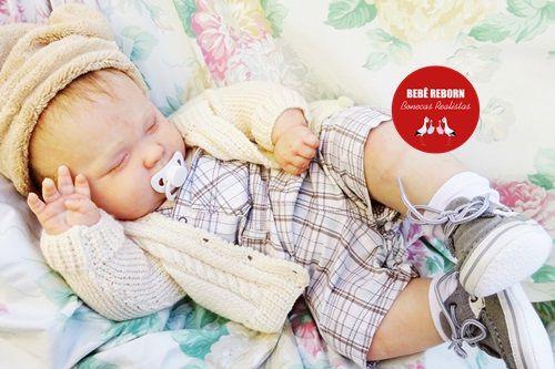 Bebê Reborn Menino Realista Criança Grande Toddler Bebê Artesanal Sofisticado Lindíssimo