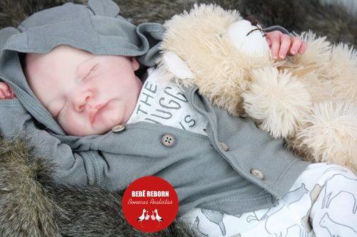 Bebê Reborn Menino Detalhes Reais Anjinho Encantador Bebê Sofisticado Com Enxoval E Chupeta