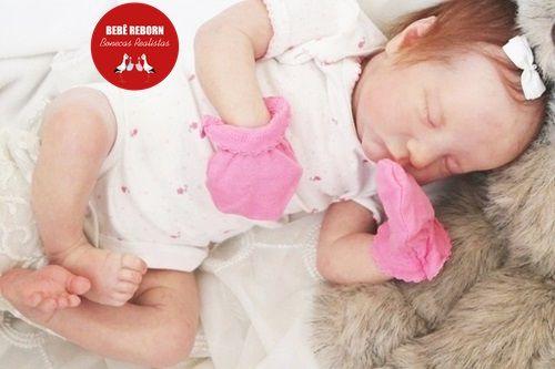 Boneca Bebê Reborn Menina Realista Linda Anjinha Cheia De Detalhes Acompanha Enxoval