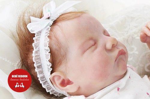 Bonecas Bebê Reborn Menina Detalhes Reais De Um Bebê De Verdade 49 Cm Com Enxoval E Acessórios