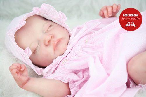 Boneca Bebê Reborn Menina Detalhes Reais Maravilhosa Bebê Com Acessórios E Um Lindo Enxoval