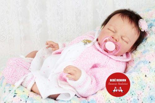 Boneca Bebê Reborn Menina Detalhes Reais Bebê Maravilhosa E Perfeitinha Com Lindo Enxoval