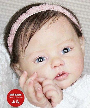 Boneca Bebê Reborn Menina Bebê Quase Real Super Fofa E Realista Um Verdadeiro Presente