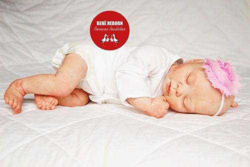 Boneca Bebê Reborn Menina Bebê Quase Real Anjinha Muito Fofa Com Enxoval Completo