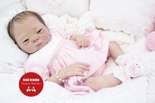 Bebê Reborn Menina Realista Modelo Oriental Lindíssima Acompanha Acessórios E Enxoval