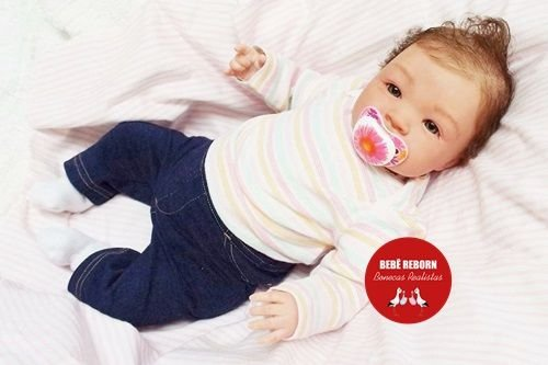 Boneca Bebê Reborn Menina Realista Super Fofa E Delicada Acompanha Lindos Acessórios