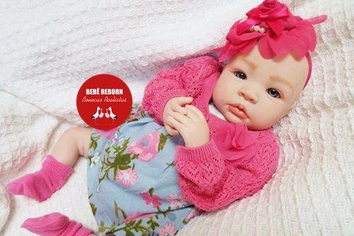 Boneca Bebê Reborn Menina Bebê Quase Real Bela E Perfeitinha Um Verdadeiro Presente
