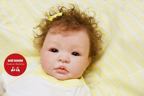 Boneca Bebê Reborn Menina Detalhes Reais Lindíssima Princesinha Delicada Com Lindo Enxoval