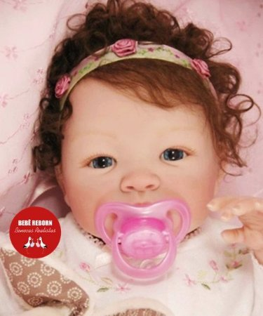 Boneca Bebê Reborn Menina Bebê Quase Real Delicada E Encantadora Acompanha Acessórios