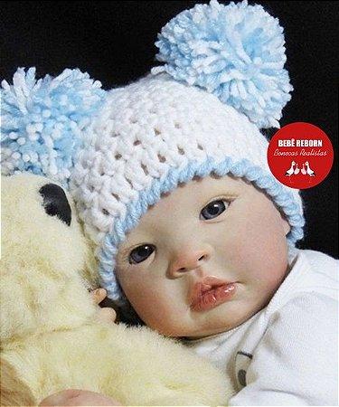 Bebê Reborn Menino Realista Bonito E Delicado Um Verdadeiro Presente Com Lindo Enxoval