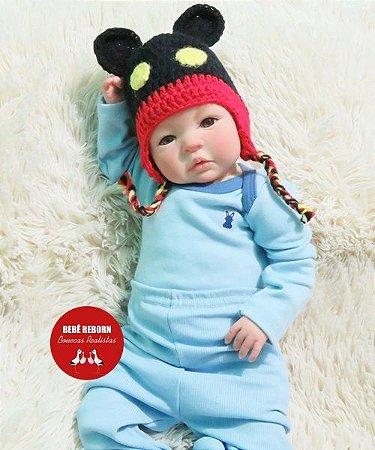 Bebê Reborn Menino Realista Bebê Recém Nascido Perfeitinho E Encantador Acompanha Enxoval