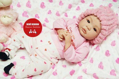 Bebê Reborn Menina Bebê Quase Real Sofisticada E Perfeita Um Verdadeiro Presente Promoção