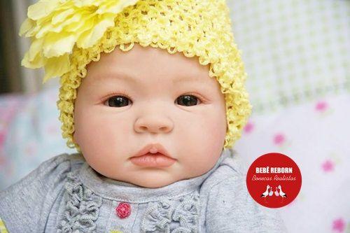 Bebê Reborn Menina Realista Muito Linda E Fofa Parece Um Bebê De Verdade Com Lindo Enxoval