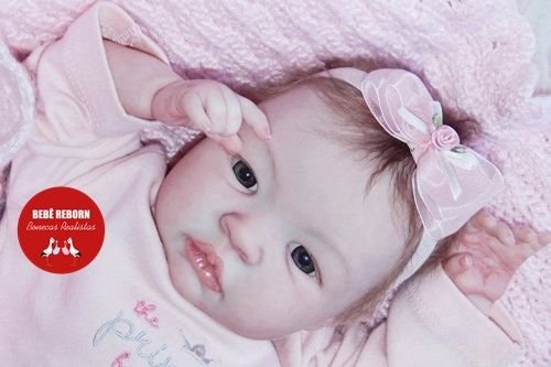Boneca Bebê Reborn Menina Detalhes Reais Encantadora Um Verdadeiro Presente Com Enxoval