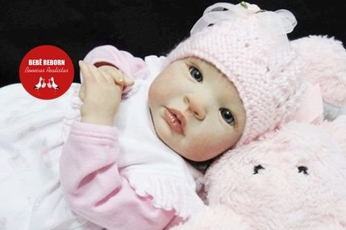Bebê Reborn Menina Detalhes Reais Recém Nascida Bebê Prematura Lindíssima Com Acessórios