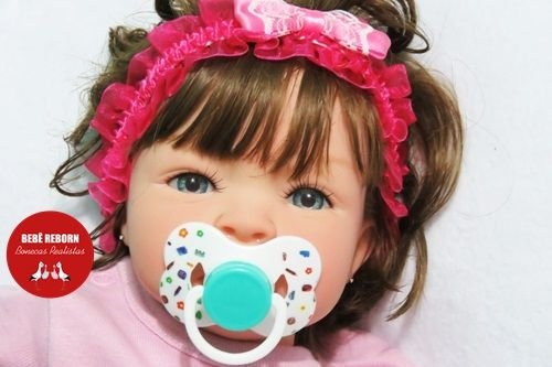 Boneca Bebê Reborn Menina Detalhes Reais Lindíssima E Encantadora Um Verdadeiro Presente