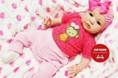 Bebê Reborn Menina Detalhes Reais Lindíssima Parece Um Bebê De Verdade Acompanha Enxoval