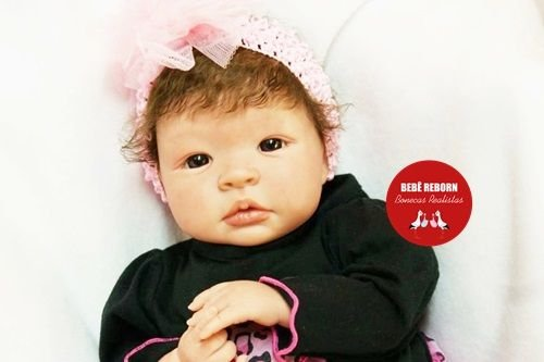 Boneca Bebê Reborn Menina Realista Linda Bebê Recém Nascida Acompanha Enxoval E Chupeta