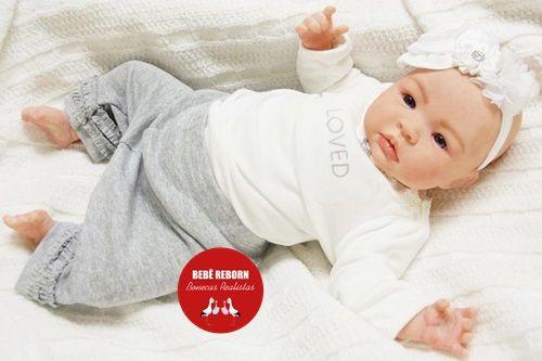 Bebê Reborn Menina Detalhes Reais Lindíssima Parece Um Bebê De Verdade Com Acessórios