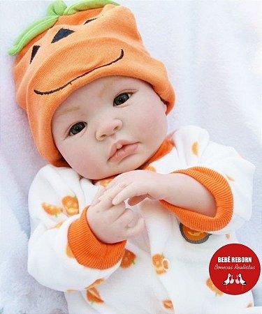 Bebê Reborn Menino Detalhes Reais Lindo E Muito Fofo Parece Um Bebê De Verdade Promoção