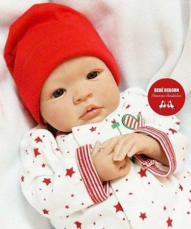 Bebê Reborn Menino Realista Lindíssimo Bebê Artesanal Sofisticado E Delicado Com Lindo Enxoval