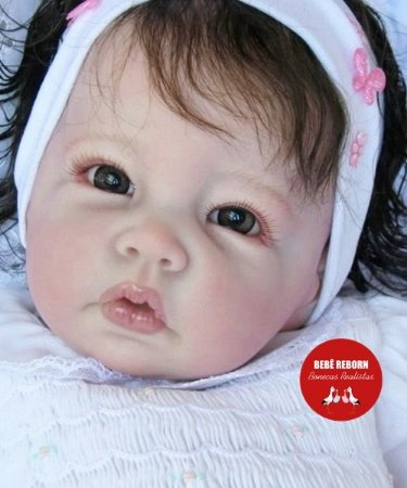 Bebê Reborn Menina Detalhes Reais Princesinha Linda Membros Vinil Siliconado Super Promoção